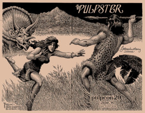 The wrap-around cover of 'The Pulpster' #1