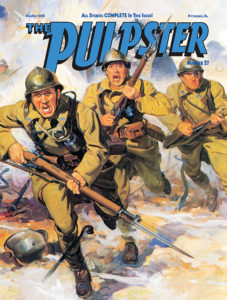 Draft cover of 'The Pulpster' #27